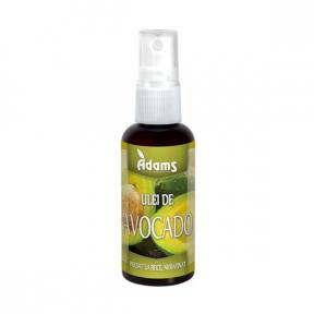 Ulei avocado, 50ml (presat la rece), Adams Vision