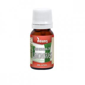 Ulei esential, Lemongrass, 10 ml,  Adams Vision