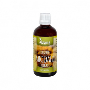 Ulei migdale dulci, 10ml, (presat la rece), Adams Vision