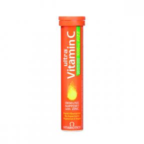 Ultra Vitamina C Fizz 1000mg, 20 tablete efervescente, Vitabiotics