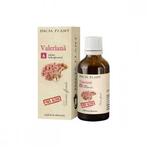 Valeriana fara alcool, 50ml, Dacia Plant