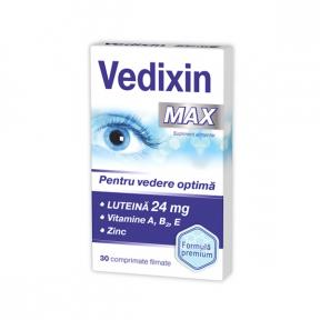 Vedixin MAX, 30 comprimate, Zdrovit