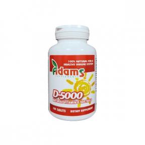 Vitamina D 5000 UI, 120 tablete, Adams Vision