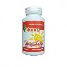 Vitamina B12 500mcg, 90 tablete, Adams Vision