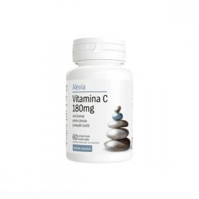 Vitamina C, 180mg, 60 capsule, Alevia