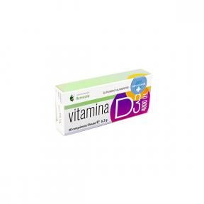 Vitamina D3 4000 UI, 30 comprimate, Laboratoarele Remedia