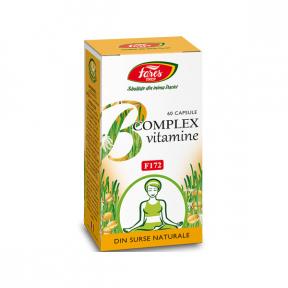 Vitamine naturale B Complex, 60 capsule, Fares