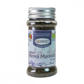 Condiment Menta Marocco (flacon) 20g BIO/ECO Biofarmland