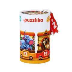 Puzzle, Trenuletul Vesel, 20 piese, 3 ani+, Cubika