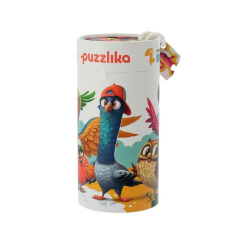 Puzzle 5 in 1, Birds, 25 piese, 2 ani+, Cubika