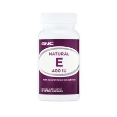 Natural E 400mg, tocopherols, 90 capsule moi, GNC