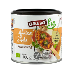 """Amestec de condimente """" Africa Style"""", ECO, BIO, 100g, Gefro"""