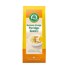 Amestec BIO de condimente pentru terci cu turmeric si portocala, 45g, LEBENSBAUM