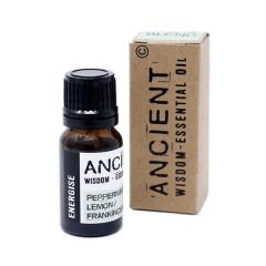 Amestec de uleiuri esentiale Energise (lamaie, menta, tamaie) 10ml - Ancient Wisdom Premium