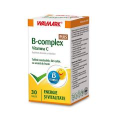 B Complex + vit C, 30 comprimate, Walmark