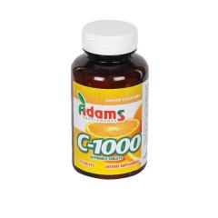 C-1000 aroma portocale, 70 tablete masticabile, Adams Vision