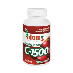 C-1500 cu macese, 30 tablete, Adams Vision