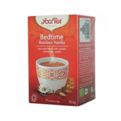 Ceai de seara cu rooibos si vanilie, BIO, 17 pliculete (30.6g), Yogi Tea