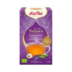 Ceai cu uleiuri esentiale, noapte buna, 20 plicuri, BIO, Yogi Tea