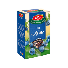 Ceai cu afine, 75g, Fares