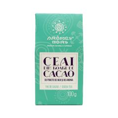 Ceai Din Boabe De Cacao, Fructe De Goji Si Aronia 100 G Arome Noirs