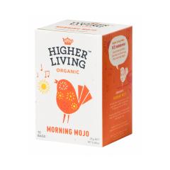 Ceai Morning Mojo, BIO , 15 plicuri, Higher Living