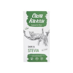 Ciocolata artizanala fara zahar cu stevie 92%, 70g, Casa Kakau