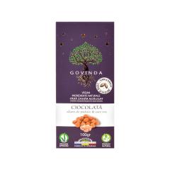 Ciocolata Alune de padure & Sare Roz, 100g, GOVINDA