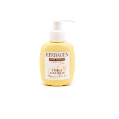 Crema pentru maini, cu citrice, cu ulei esential de citrice, glicerina,ulei de masline, 100 g, HERBAGEN