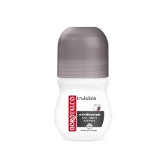 Deodorant roll-on Borotalco Invisible, 50ml, Borotalco