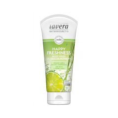 Gel de dus Happy Freshness cu lime si citronella, 200ml, Lavera