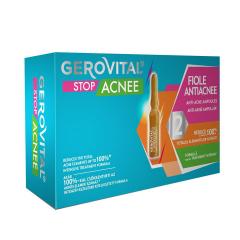 Fiole antiacneice Stop Acnee, 10 fiole x 2ml, Gerovital