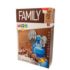 Cereale cu secara petale cu cacao Power, 400g, Milzu!