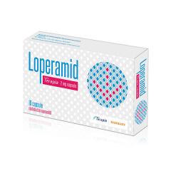 Loperamid 2mg 10 cps,  Terapia