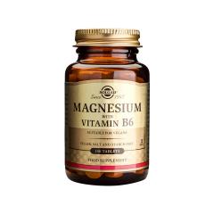 Magnesium + Vit.B6, 100 tb, Solgar
