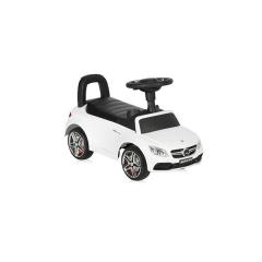 Masinuta model licentiat Mercedes Coupe, muzica si sunete, White LORELLI