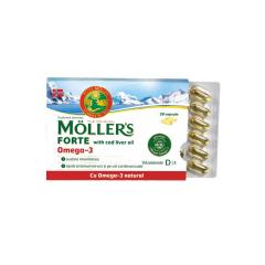Moller's Forte Omega-3, 30 capsule, Moller's
