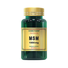MSM 1000mg premium, 60 tablete, COSMO PHARM