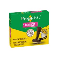 Propolis C + echinaceea, 20 comprimate de supt, Fiterman Pharma