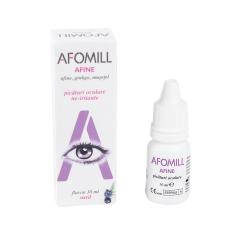 Picaturi oculare cu afine, 10ml, AFOMILL