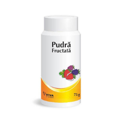 Pudra fructata, 75g, Viva Pharm