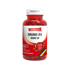 Supliment alimentar Imuno D3, 4000 UI, 60 capsule, AdNatura