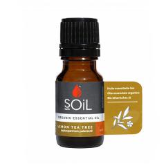 Ulei Esential Lemon-scented Tea Tree 100% Organic, ECOCERT, 10ml, SOiL