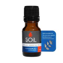 SOiL Ulei Esential Peppermint - Menta 100% Organic ECOCERT 10ml