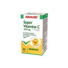 Super Vitamina C, 600mg, 30 tablete, Walmark