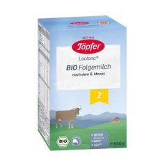 Lapte praf BIO 2, 600g, Topfer