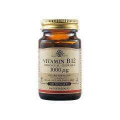 Vitamin B12 1000mg, 100 capsule, Solgar