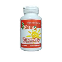Vitamina B12 1000mcg, 90 tablete, Adams Vision