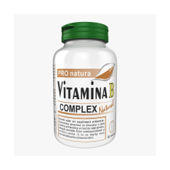 Vitamina B Complex Natural, 60 capsule, Pro Natura