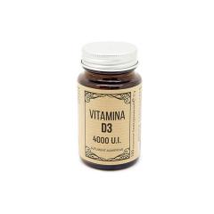 Vitamina D3 4000 UI, 100 comprimate, Laboratoarele Remedia